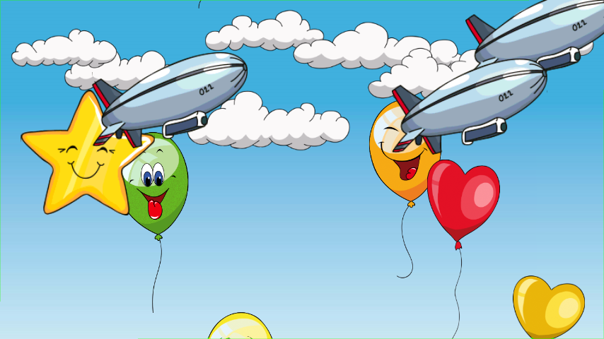 智能手机/平板电脑上的《气球射击》作为在俄罗斯、美国、德国、西班牙以及英国排行榜前五位(Top 5)的游戏,非常深受孩子们的喜爱。 《气球射击》作为一款教育类游戏非常合适年龄至七岁的孩童。 现代社会中,教育类游戏已经成为孩子成长发展环节中不可或缺的一部分,并且逐渐成为趋势。 《气球射击》是一款面向低年龄孩童的游戏,有趣并且刺激,射击气球并且放飞小鸟。数以百万计的气球以及更多乐趣等你来玩。 《气球射击》给孩子们带来更多欢声笑语:快速射击蓝天上所有可见的气球、飞船、星星、小气球和鸟儿。 让您的孩子来畅玩《气球