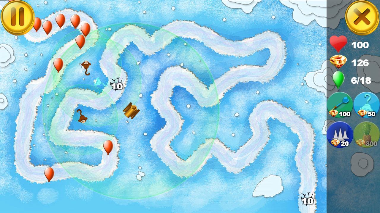 猴子气球塔防免费下载-手机猴子气球塔防安卓版下载