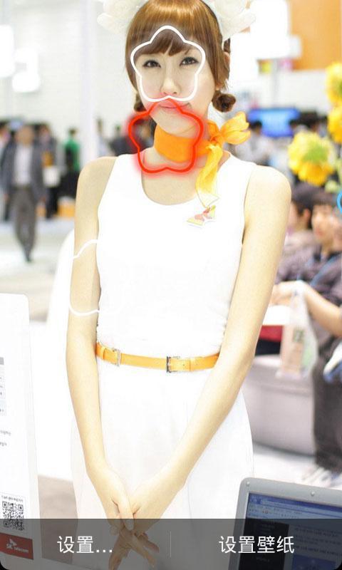 韩国模特美女动态壁纸,闪亮桌面,集起数十张